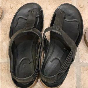 Keen flip flops 11 black